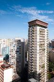 Veduta aerea di edifici nella città di sao paulo — Foto Stock