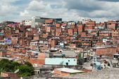 Favela in Sao Paulo — Stock Photo