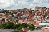 Favela in Sao Paulo — Stock Photo