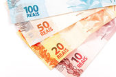 Brazilian money — Stock Photo