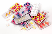 Pills and capsules — Stockfoto