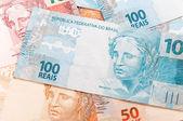 Dinero brasileño — Foto de Stock