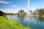 Ibirapuera Park in Sao Paulo — Stock Photo