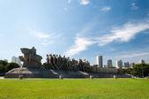 Bandeiras Monument Sao Paulo Brazil — Stock Photo