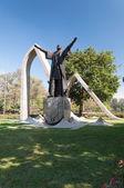 Anıtın pedro alvares cabral sao paulo Brezilya. — Stok fotoğraf
