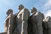 The Bandeiras Monument in Sao Paulo Brazil — Stock Photo