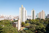 Sao paulo, residential area of the Bras — Photo
