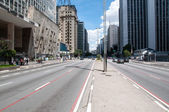 Paulista Avenue in Sao Paulo, Brazil — Stock Photo