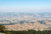 Vallei en de berg — Stockfoto