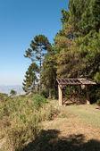 Entrance gate on the mountain  — Photo