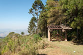 Entrance gate on the mountain  — Foto Stock