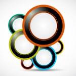 Abstract web bubbles — Stock Vector