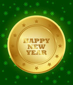 2013 New Year Seal — Stock Vector