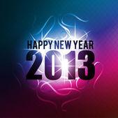 Аннотация 2013 Новый год празднования фон — Cтоковый вектор
