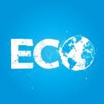 Grunge eco concept illustration — Stock Vector #14825791