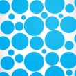 Stock Vector: Blue web circles background