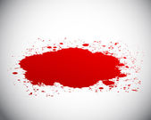 Blood splash — Stock Vector