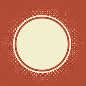 Grunge texturerat vintage etikett — Stockvektor