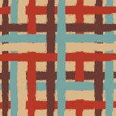 Sömlös randig textil bakgrund — Stockvektor