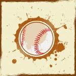 Vintage grunge baseball — Stock Vector #24432353