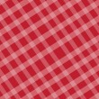Checkered texture red — Stock Vector