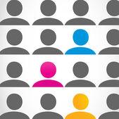 Diversity people concept — Stock Vector