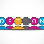 Option — Stock Vector