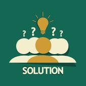 Grupo solución — Vector de stock