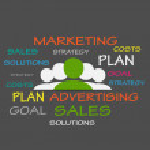 Marketing Strategies Tag Cloud — Stock Vector