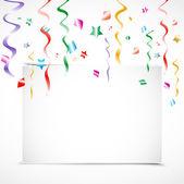 Birthday Party invitation card — Stock Vector