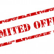 """""""Limited Offer"""" stamp — Stock Vector #6428943"""