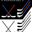 Hockey. — Vettoriale Stock