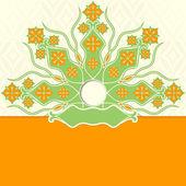 декоративный цветочный фон — Cтоковый вектор