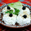 Yoghurt and cucumber salad — Stockfoto