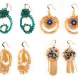 Jewellery earrings — Foto Stock