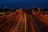 高速道路の交通信号 — ストック写真