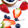 Healthy fruits — Stock Photo
