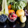 Fruits and vegetables — Stock Photo #26698927