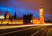 Big Ben and Houses of parliament at dusk — Stock Photo