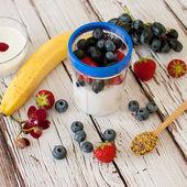 Healthy smoothie — Stock Photo