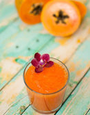 Smoothie papaye — Photo