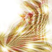 Abstract vector background - lumières colorées de transparents — Vecteur