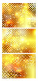 Abstract Vector Background - Colorful Transparent Lights — Vecteur