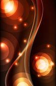 抽象矢量背景-多彩透明灯 — 图库矢量图片