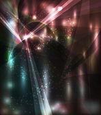 Vetor abstrato background - luzes coloridas transparentes — Vetorial Stock
