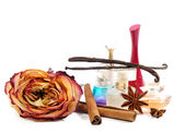 Women's perfume — Stock Photo