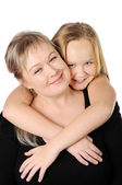 Mother with her teen doughter — Stock Photo