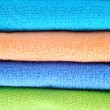 Cotton towels background — Stock Photo