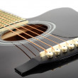Classic guitar details — Stock Photo