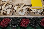 Market fruits and produce — Stock Photo